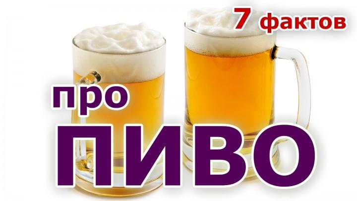 7 фактов про пиво