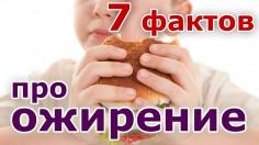7 фактов про ожирение